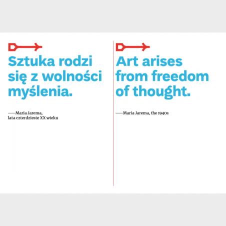 Pocztówka – Sztuka rodzi się z wolności wyboru