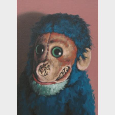 Pocztówka - Peter Jones Ollie Monkey [Małpka Ollie]