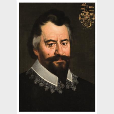 Pocztówka Bartholomaeus Strobel młodszy, Portret Johanna (?)...