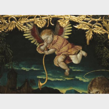 Pocztówka – Św. Hieronim, Moda na Cranacha