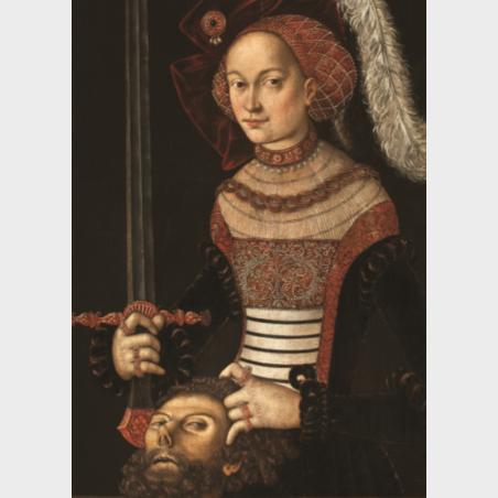 Pocztówka –  Judyta z głową Holofernesa, Moda na Cranacha
