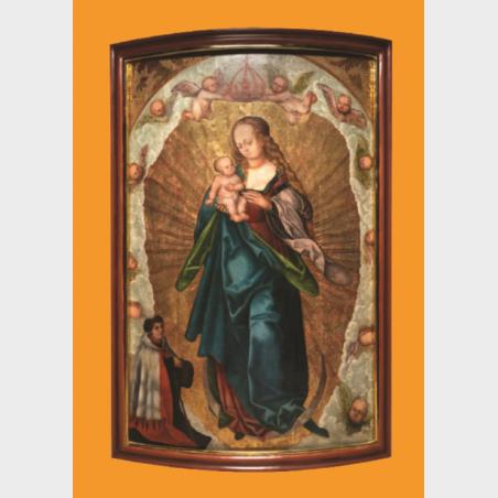 Pocztówka – Madonna apokaliptyczna, Moda na Cranacha