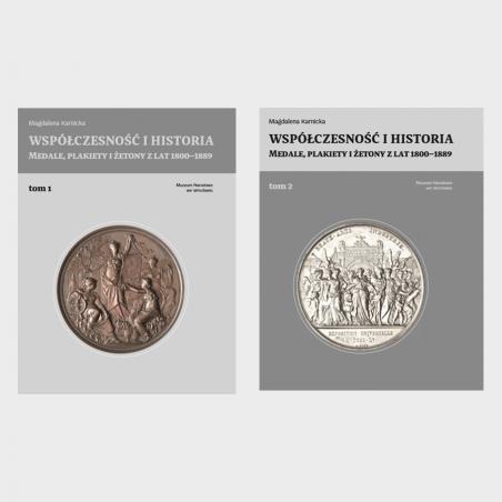 Współczesność i historia. Medale, plakiety i żetony zlat...