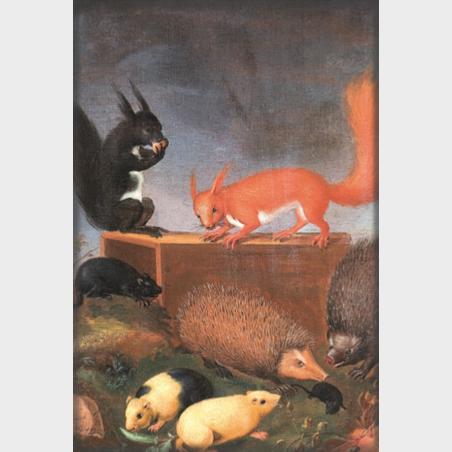 Magnes – Ernst Wilhelm Bernhardi, Zwierzęta w pejzażu