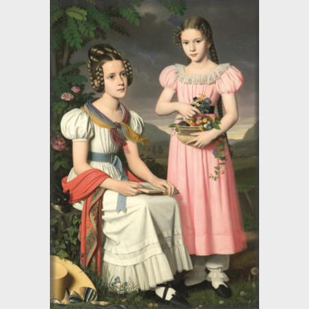 Magnes – Bernhard Peter Rausch, Portret dwóch dziewcząt