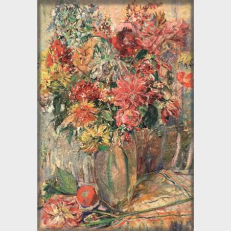 Magnes – Clara Sachs, Kwiaty