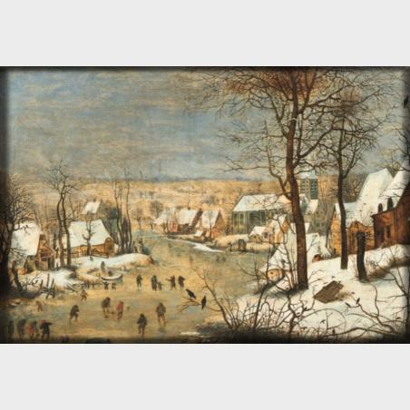 Magnes – Pieter Brueghel młodszy (pracownia), Pejzaż z...
