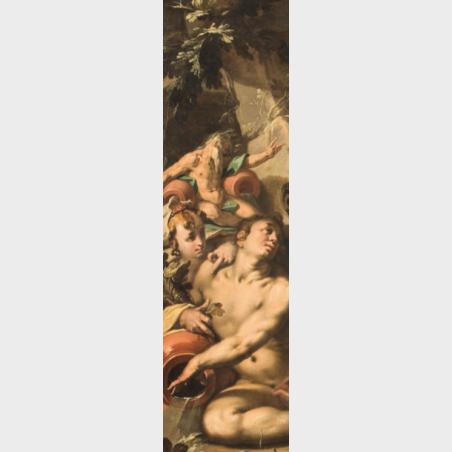 Zakładka  – Abraham Bloemaert, Mity Apollińskie