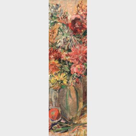 Zakładka – Clara Sachs, Kwiaty
