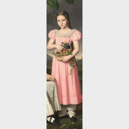 Zakładka – Bernhard Peter Rausch, Portret dwóch dziewcząt