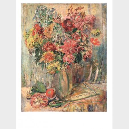 Pocztówka – Clara Sachs, Kwiaty