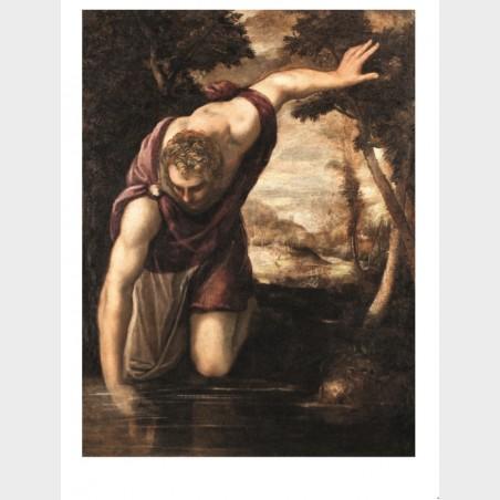 Pocztówka – Jacopo Tintoretto i warsztat, Narcyz