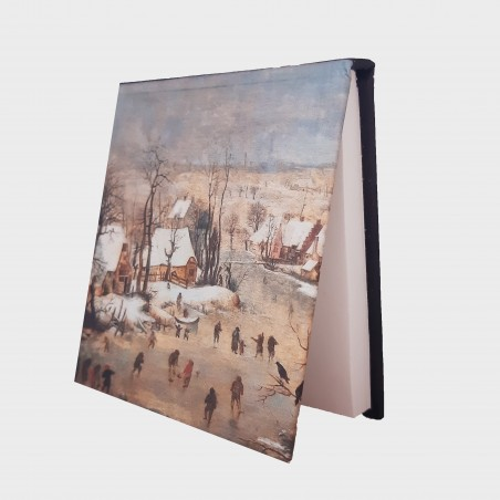 Notes – Pieter Brueghel młodszy, Pejzaż zimowy z łyżwiarzami i...