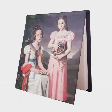 Notes – Bernhard Peter Rausch Portret dwóch dziewcząt