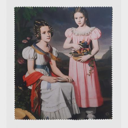 Ściereczka – Bernhard Peter Rausch, Portret dwóch dziewcząt...