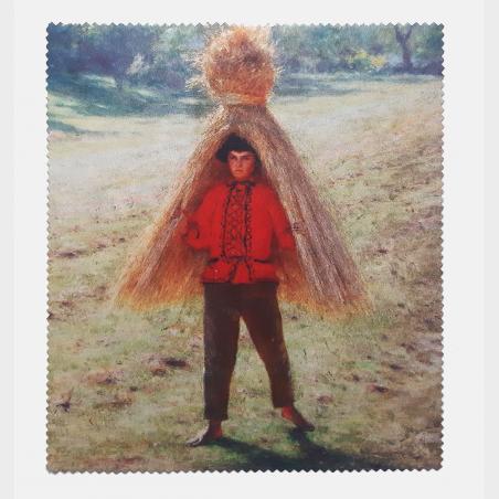 Ściereczka – Aleksander Gierymski, Chłopiec w słońcu