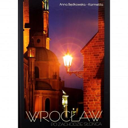 Wrocław po zachodzie słońca