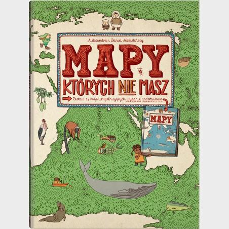 MAPY, których nie masz Zestaw 24 map uzupełniających wydanie...