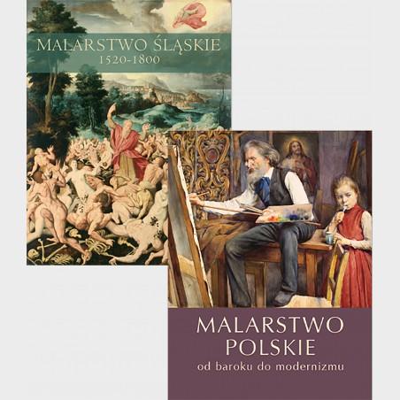 Zestaw: Malarstwo polskie i Malarstwo śląskie