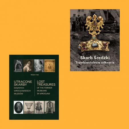Zestaw: Utracone skarby dawnych wrocławskich muzeów, Skarb...