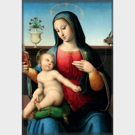 Magnes – Leonardo Malatesta da Pistoia, Madonna z Dzieciątkiem...