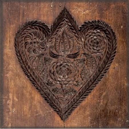Magnes – Drewniana forma do pierników w kształcie serca