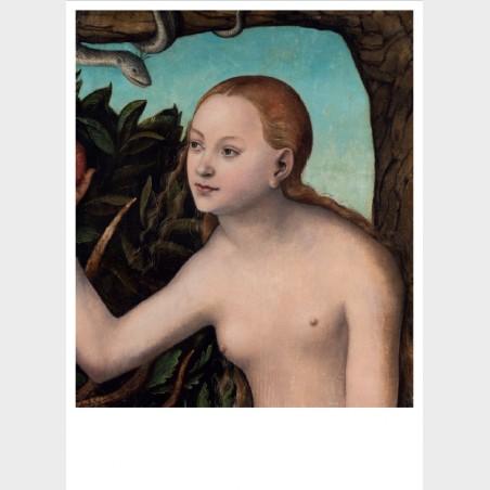 Pocztówka  – Lucas Cranach starszy, Ewa