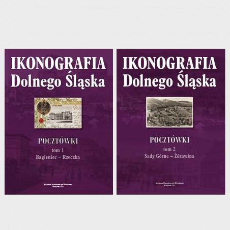 Ikonografia Dolnego Śląska. Pocztówki. Tom I i II