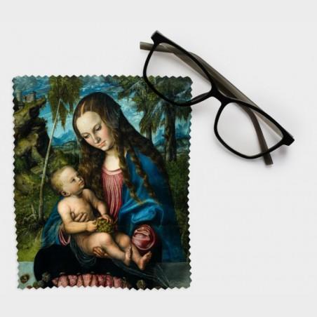 Ściereczka do okularów – Lucas Cranach starszy, Madonna pod...