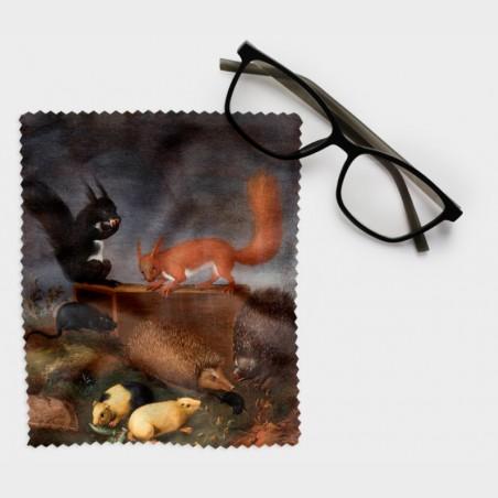 Ściereczka do okularów – Ernst Wilhelm Bernhardi, Zwierzęta w...