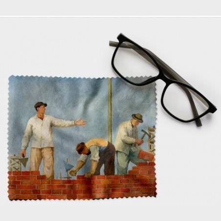 Ściereczka do okularów – Aleksander Kobzdej, Podaj cegłę