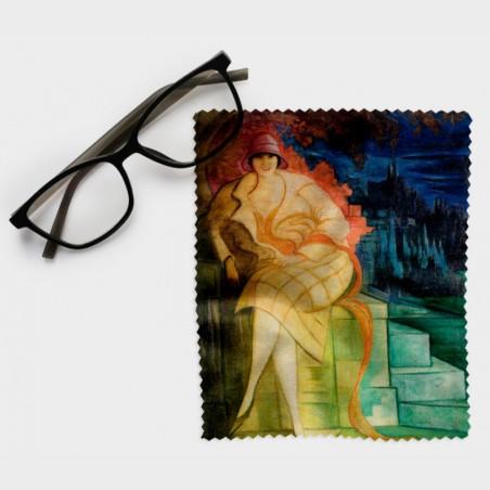 Ściereczka do okularów – Leon Chwistek, Portret żony