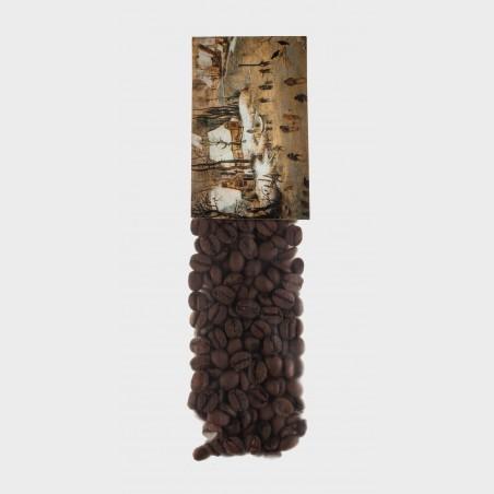Saszetka z kawą – Pieter Brueghel młodszy, Pejzaż zimowy z...