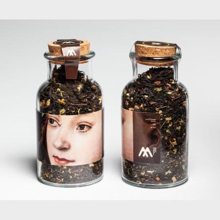Szklany flakon z herbatą – Lucas Cranach starszy, Ewa