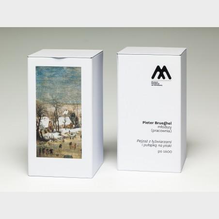 Herbata w puszce – Pieter Brueghel młodszy, Pejzaż zimowy z...