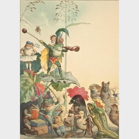 Pocztówka – Fedor Flinzer, Teatr żab