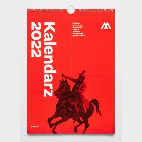 Kalendarz ścienny 2022 Panorama Racławicka
