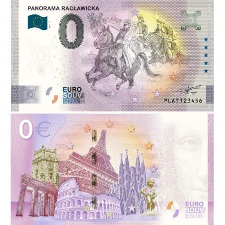 Banknot pamiątkowy Panorama Racławicka