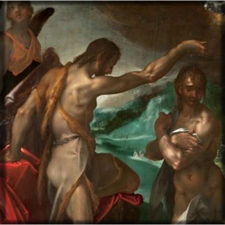 Magnes – Bartholomaeus Spranger, Chrzest Chrystusa